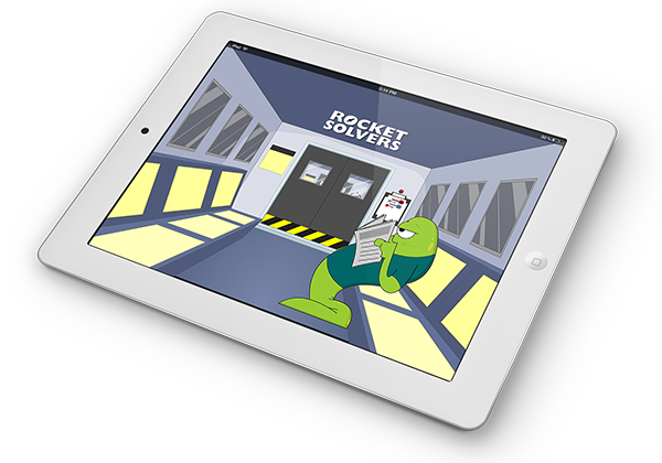 Rocket Solvers iPad Game