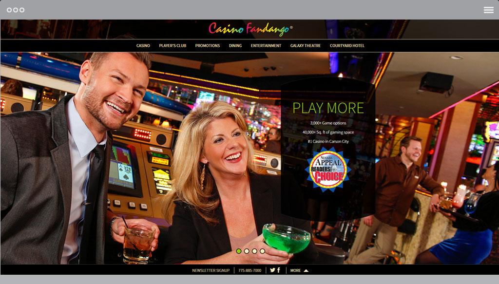 Casino Fandango Homepage