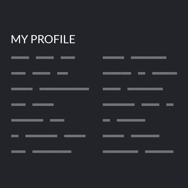 Design expectation: perfectly uniform user profiles